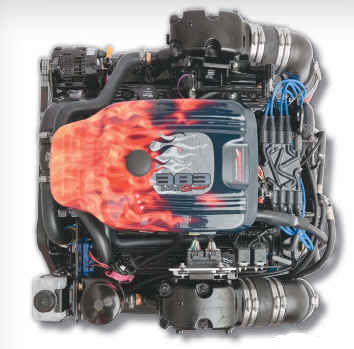 PLUS Series 383 Mag Stroker MPI Bobtail Marine Engine - Click Here to See Product Details