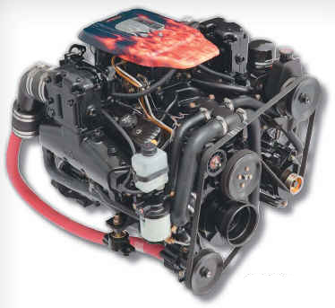 357 Mag Bravo 4V Bobtail Engine - Click Here to See Product Details