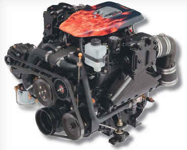 Plus Series  4.3L V6 4V Carbureted Bobtail Marine Engine - Click Here to See Product Details