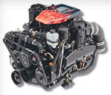 PLUS Series 383 Mag Stroker Bravo Bobtail Marine Engine - Click Here to See Product Details