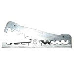 S.S. CUSHION CLAMPS (PACER MARINE P/N BSSC64-4) (#PCRBSSC644)