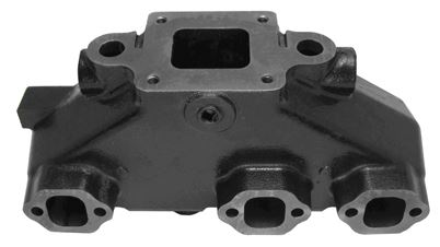 Manifold - MerCruiser Direct Replacement Dry Joint V6 Manifold, EDP Coated (Mercruiser P/N 864612T01) - Click Here to See Product Details