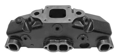 Manifold - MerCruiser Direct Replacement Center Riser Dry Joint V8 Manifold, EDP Coated - Click Here to See Product Details