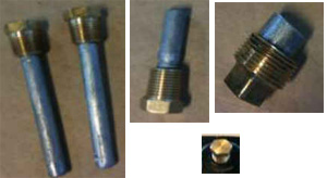 Anode Kit For Exhaust Systems w/o Exhaust Spacer - Click Here to See Product Details