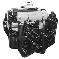 "Mercruiser Closed Cooling System: 1997 - 2001 Small V8 MPI w/ Serpentine Belt & High Port Side Mounted Power Steering ""Standard Capacity"" (#MC326-8)"