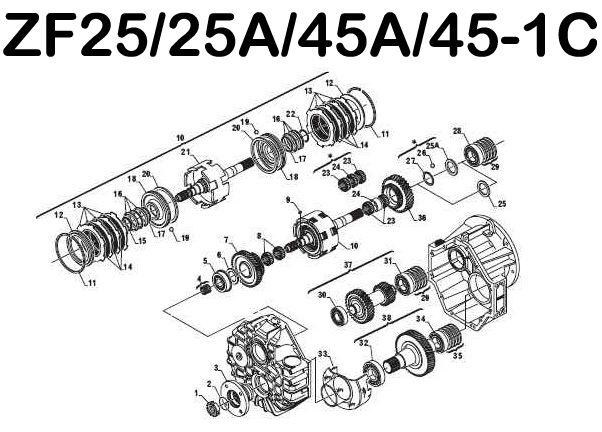 Rebuilt Dana Differential also Rockwell Transmissions besides Cantaloupe Island in addition MT 75 likewise Gear1 15319122. on manual gears