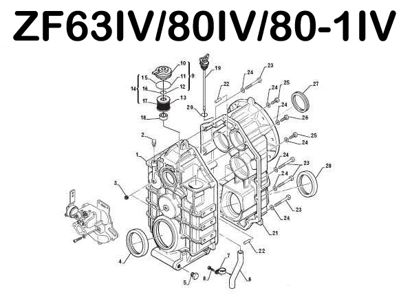Zf Hurth Marine Transmission Shopping Specifications And