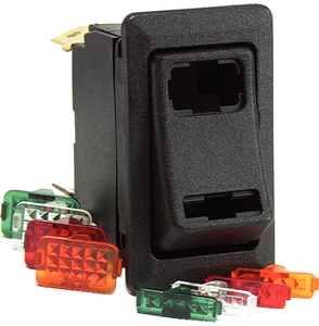 WEATHER RESISTANT DEPENDENT & INDEPENDENT <BR>ROCKER SWITCH KIT (#12-58328103BP) - Click Here to See Product Details