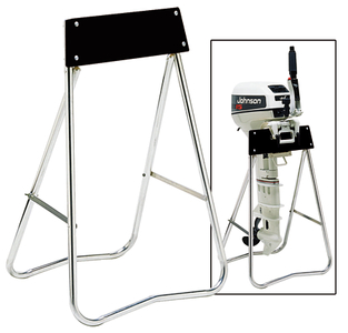 Outboard motor stands carriers for Large outboard motor stand