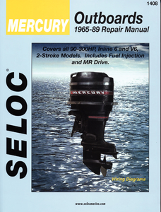 Seloc Tune-Up Manual - Mercury Outboards, 90-300 Hp, 6 Cyl, 1965-1989