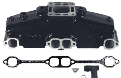 OEM Mercruiser Small V8 Exhaust Manifold (Hot Dipped) - #860246A15