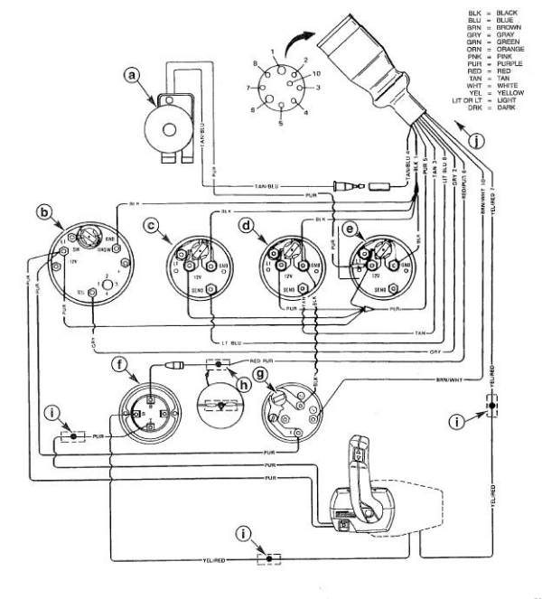 Outboard Tachometer Wiring Diagrams