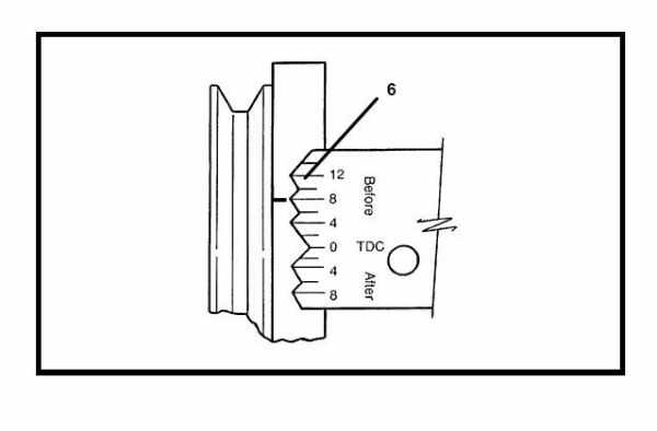 mercruiser engine timing procedures