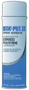 A P PRODUCTS STA-PUT II SPRAY ADHESIVE (001-SP213ACC)