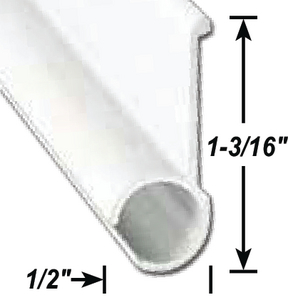 A P PRODUCTS AWNING RAIL BLK 16' 5/CS (021-50802-16)