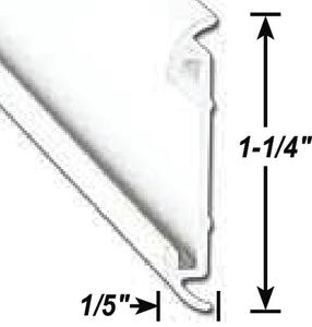 A P PRODUCTS FLAT TRIM INS. MILL 8' 5/CS (021-54603-8)