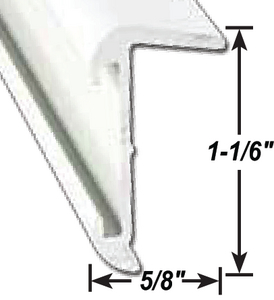 A P PRODUCTS ROOF EDGE BLK 8' 5/CS (021-57402-8)