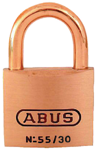 SOLID BRASS PADLOCK (#195-55806) - Click Here to See Product Details