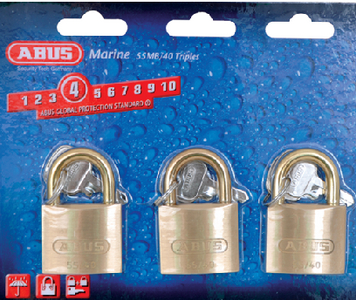 SOLID BRASS PADLOCK (#195-56613) - Click Here to See Product Details
