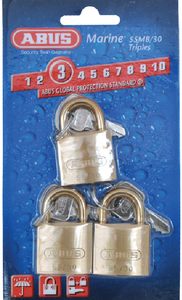 SOLID BRASS PADLOCK (#195-56811) - Click Here to See Product Details