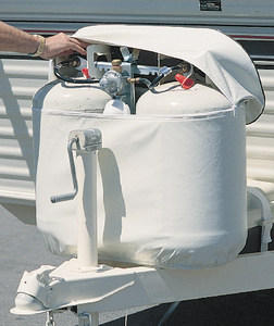 ADCO PRODUCTS INC 30# POLAR WHT DBL TANK COVER (2113)
