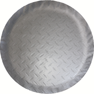 """ADCO PRODUCTS INC TIRE COVER N 24"""" DIA SILVER (9759)"""