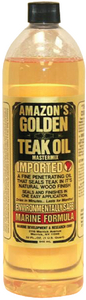 GOLDEN TEAK OIL (#579-GTO125) - Click Here to See Product Details