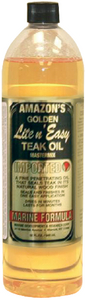 LITE 'N' EASY TEAK OIL (#579-LE850) - Click Here to See Product Details