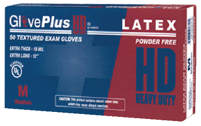 EXTRA THICK HEAVY DUTY LATEX GLOVES (#674-GPLHD88100) - Click Here to See Product Details