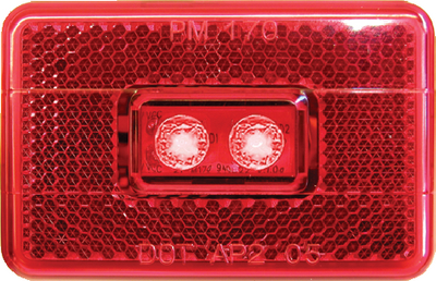 PIRANHA<sup>®</sup> LED CLEARANCE/SIDEMARKER w/REFLEX (#177-V170R) - Click Here to See Product Details