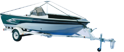 DELUXE BOAT COVER SUPPORT SYSTEM (#23-107954) - Click Here to See Product Details