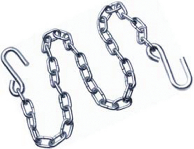 TRAILER CHAIN WITH CLIPS (#23-110117) - Click Here to See Product Details