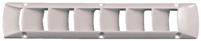 PLASTIC LOUVERED VENT (#23-14951) - Click Here to See Product Details