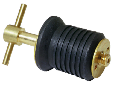 STAINLESS STEEL T-HANDLE DRAIN PLUGS (#23-7526A7) - Click Here to See Product Details