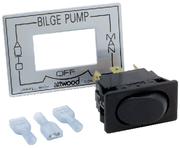 3-WAY BILGE PUMP SWITCH (#23-7615A3) - Click Here to See Product Details