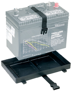 BATTERY TRAY WITH STRAP HOLDER  (#23-90925) - Click Here to See Product Details