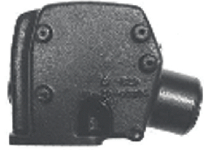EXHAUST RISERS (#109-MC2098504) - Click Here to See Product Details