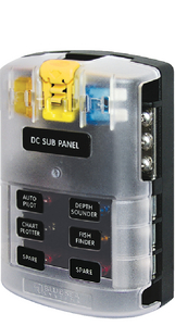 ATO/ATC ST BLADE FUSE BLOCK SYSTEM (#661-5025) - Click Here to See Product Details