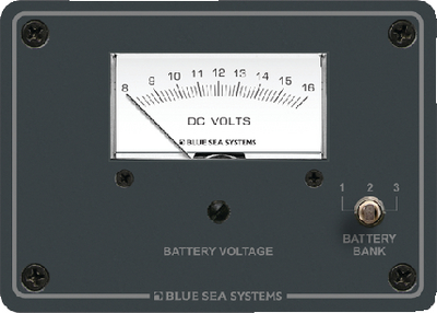 DC ANALOG VOLTMETER PANEL (#661-8015) - Click Here to See Product Details