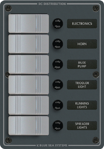 WATER RESISTANT DC FUSE PANELS - SLATE GREY (#661-8053) - Click Here to See Product Details