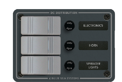 WATER RESISTANT DC FUSE PANELS - SLATE GREY (#661-8054) - Click Here to See Product Details