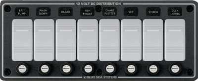 WATER RESISTANT DC FUSE PANELS - SLATE GREY (#661-8261) - Click Here to See Product Details