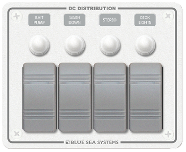 WATER RESISTANT DC CIRCUIT BREAKER PANELS (#661-8272) - Click Here to See Product Details