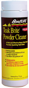 TEAK BRITE<sup>®</sup> POWDER CLEANER - Click Here to See Product Details