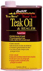 TEAK BRITE<sup>®</sup> ADVANCED FORMULA TEAK OIL & SEALER (#76-1188) - Click Here to See Product Details