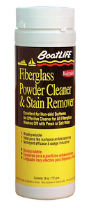 FIBERGLASS POWDER CLEANER & STAIN REMOVER - Click Here to See Product Details