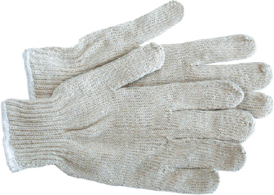 WHITE STRING KNIT GLOVES (#280-300W) - Click Here to See Product Details