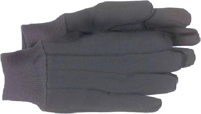 BROWN JERSEY GLOVES (#280-4021) - Click Here to See Product Details