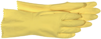 LATEX FLOCKED LINED GLOVES (#280-958M) - Click Here to See Product Details
