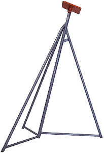 """BROWNELL BOAT STANDS GALV SAIL BOAT STAND 79-96"""" (SB0GALV)"""